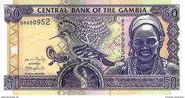 GAMBIA 50 DALASIS ND (2001) P-23 UNC [GM220a] - Gambia