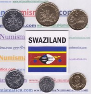 SWAZILAND  Set / Tira  6 Monedas/Coins  2.015  2015     SC/UNCirculated     T-DL-11.751 - Swazilandia