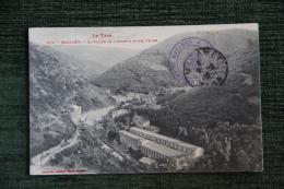 MAZAMET - La Vallée Et L'Arnette Et Ses Usines. - Mazamet