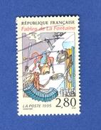 1995 N° 2958  LA CIGALE ET LA FOURMI OBLITERE 2 SCANNE - Gebraucht