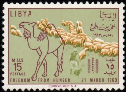 LIBYA - Scott #235 Camel & Flock Of Sheep / Mint H Stamp - Libya