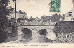 91 .  Essonne :  Orsay : Pont De Pierre Sur L  ' Yvette . - Orsay