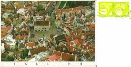 EESTI  ESTONIA  TALLINN  Trükitud Eesti  Panorama  Nice Stamps - Estonia