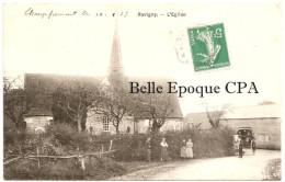 53 - RAVIGNY - L'Église +++ Sans éditeur +++ Champfremont à Pleumartin, 1909 ++++ RARE - Francia