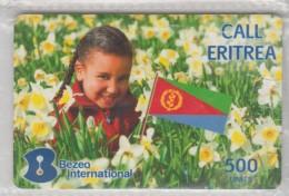 ISRAEL 2011 BEZEQ INTERNATIONAL CALL ERITREA FLAG 500 UNITS - Israel