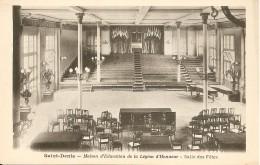 93200 SAINT DENIS - MAISON D' EDUCATION DE LA LEGION D' HONNEUR  SALLE DES FÊTES Vers 1900 - Saint Denis