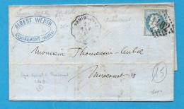 Convoyeur Station - Ligne 209 - Ligne De Remiremont à Epinal - Station De REMIREMONT (Vosges) - Marcophilie (Lettres)