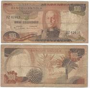 Angola 100 Escudos 1972 Pick 101 Ref 619 - Angola