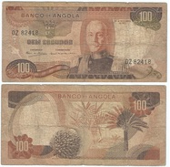 Angola 100 Escudos 1972 Pick 101 Ref 83-3 - Angola