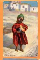 FAP-19 Young Girl Of Egypt. A Touch Of Nature.  Egyptian Gazette Serie. Used In Alexandria In 1905 - Egypt