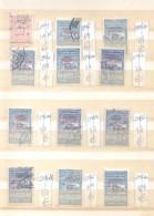 REPUBLIQUE SYRIENNE TIMBRES FISCAUX FISCALES PLUS DE 1100 EUROS COTATION YVERT