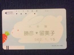 Ancienne Balkenkarte / Barcode Card From Japan / Nippon / Japonese  - No. 110-92 - Japan