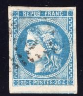 Emission De Bordeaux  N° 46B Avec Oblitération Losange  TB - 1870 Emission De Bordeaux