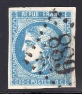 Emission De Bordeaux  N° 46B Avec Oblitération Losange  TB - 1870 Bordeaux Printing