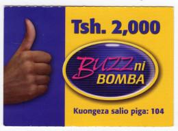 TANZANIE Prepayé BUZZ - Tanzanie