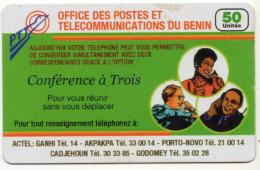 BENIN Prepayé OPT Du BENIN 50U