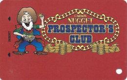 Carson Nugget Casino Carson City, NV Slot Card - Copyright 2008 (BLANK) - Casino Cards