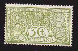 Netherlands, Scott #B2, Mint Hinged, Battling Tuberculosis, Issued 1906 - Period 1891-1948 (Wilhelmina)