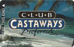 Castaways Casino Las Vegas, NV Slot Card  (BLANK) - Casinokarten
