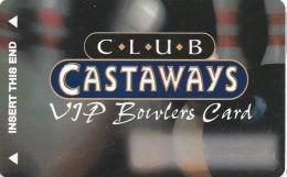 Castaways Casino Las Vegas, NV Slot Card - VIP Bowler  (BLANK) - Casino Cards