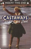 Castaways Casino Las Vegas, NV Slot Card - Aloha Spirit    (BLANK) - Casinokarten