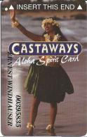 Castaways Casino Las Vegas, NV Slot Card - Aloha Spirit - Casino Cards