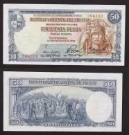 50 PESOS URUGUAY  2 Janvier 1939  SPL - Uruguay