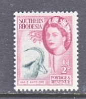 SOUTHERN RHODESIA   81   * - Southern Rhodesia (...-1964)