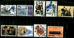 Espagne Scott N°2301.2280.2310.2311.2335.2313.2371.2300.. Aerien  C179.oblitérés - 1931-Today: 2nd Rep - ... Juan Carlos I