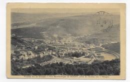 (RECTO / VERSO) BOGNY EN 1929 - VUE PANORAMIQUE PRISE DU ROCHER DES 7 VILLAGES - CPA VOYAGEE - France