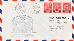 CANADA  FIRST  FLIGHT  DIE  II - First Flight Covers