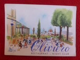 FIRENZE ITALIE RESTAURANT NIGTH CLUB OLIVIERO - Firenze (Florence)