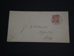 ALLEMAGNE - Enveloppe De Leipzig Pour Brieg En 1887, Affranchissement Plaisant - A Voir- L 289 - Germany