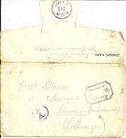 Enveloppe Du Camp De Prisonniers 190744-cachet P.O.W.203 CAMP Pour La Lorraine Occupée-1943 - Postmark Collection (Covers)