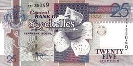 SEYCHELLES 25 RUPEES ND (1998) P-37a UNC [ SC410a ] - Seychelles