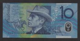 Billet De 10 DOLLARS AUSTRALIE . Serie N° D E 98972496 . - Australia