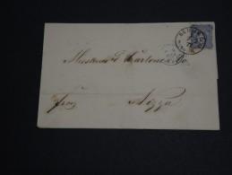 ALLEMAGNE - Lettre De Berlin Pour Nice En 1877 - A Voir- L 294 - Deutschland