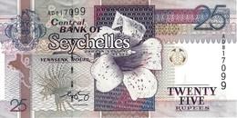 SEYCHELLES 25 RUPEES ND (2005) P-37b UNC [ SC410b ] - Seychelles