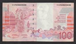 Billet De 100 FRANCS BELGE ENSOR . Serie N° 11038208030. - 100 Francos