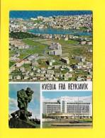 CPSM Kvedja Frá Reykjavik - Gel. 1972 - Islande