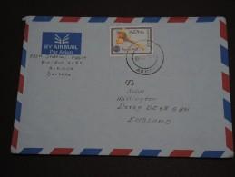 ÉRYTHRÉE - Enveloppe De Asmara Pour Willington - A Voir - L 326 - Erythrée