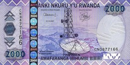 RWANDA 2000 FRANCS 2007 P-32 UNC [ RW135a ] - Rwanda