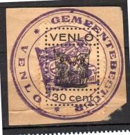 Venlo Fiscal Gemeenterecht SCARCE ONE! (n259) - Revenue Stamps