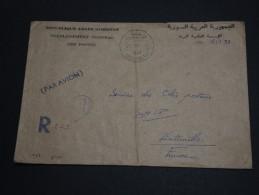 SYRIE - Enveloppe En Recommandée De Alep Avec Oblitération Colis Postaux Pour L ' Italie - A Voir - L 330 - Syria