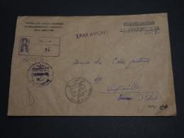 SYRIE - Enveloppe En Recommandée De Alep Avec Oblitération Colis Postaux Pour L´ Italie 1984 - A Voir - L 332 - Syria