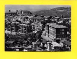 CPSM POGGIO MIRTETO Panorama 1954 ( Edifice In Lavori ) - Rieti