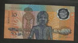 AUSTRALIA - RESERVE BANK Of AUSTRALIA - 10 Dollars (1988) / POLYMER - Emissioni Governative Decimali 1966-...