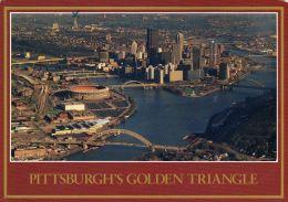 1 AK USA Pennsylvania * Blick Auf Pittsburgh - Luftbildaufnahme * - Pittsburgh
