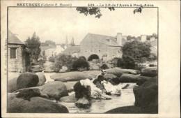 29 - PONT-AVEN - Lavoir - Lavandières - Pont Aven