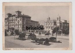 VIAREGGIO  LUCCA CASINO E GRAND HOTEL ET ROYAL F/G VIAGGIATA 1933 - Viareggio